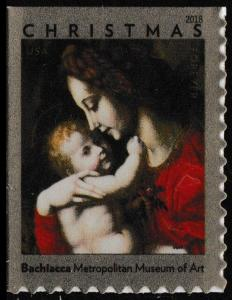 US 5331 Christmas Madonna & Child by Bachiacca forever single (1 stamp) MNH 2018