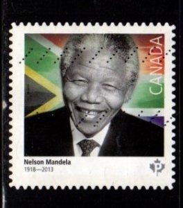 Canada - #2806 Nelson Mandela - Used
