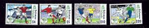 Solomon Is 1052-55 MNH 2006 World Cup Soccer