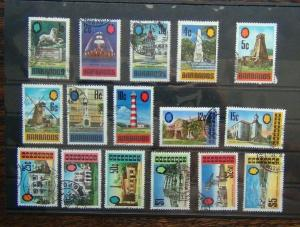 Barbados 1970 -1971 set to $5 Used