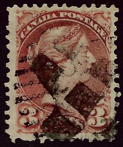 Canada #37b Used VF SC$60.00...Bid to win!!