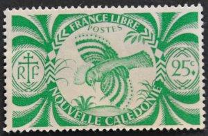 DYNAMITE Stamps: New Caledonia Scott #254 – MINT hr