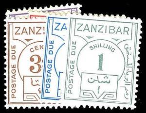 ZANZIBAR J18-23  Mint (ID # 78291)