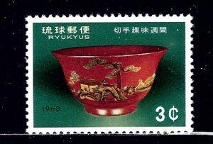 Ryukyu Is 112 MNH 1963 Issue    (ap2319)