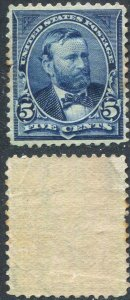 Scott 291 5c Grant Mint Hinged 1898