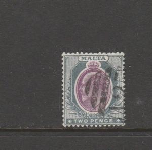 Malta 1903/04 Crown CA 2d used SG 40