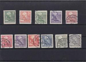 SWEDEN  MOUNTED MINT OR USED STAMPS ON  STOCK CARD  REF R883