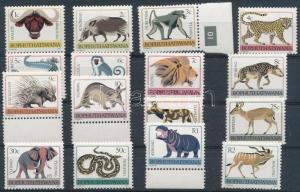 South-Africa--Bophuthatswana stamp Animals set MNH 1977 Mi 1-17 Ax WS240201