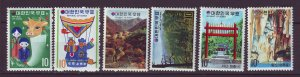 J24500 JLstamps south korea 3 sets mnh #840-1.842-3,849-50
