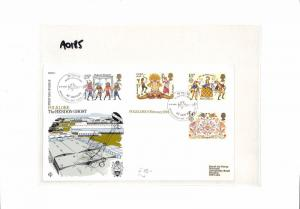 AO185 1981 GB Commemorative Cover 'Folklore The Hendon Ghost'