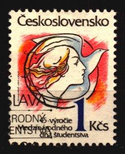 Czechoslovakia Scott 2539 used