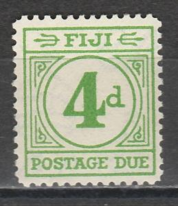 FIJI 1940 POSTAGE DUE 4D