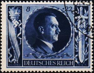 Germany. 1943 8pf+22pf S.G.834. Fine Used