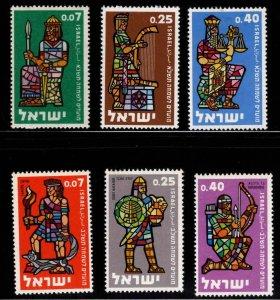 ISRAEL Scott 184-186 , 208-210 MNH** New Year sets similar designs