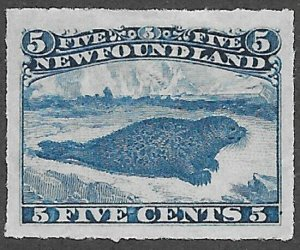 Newfoundland Scott Number 40 VF Mint H Unitrade C$400