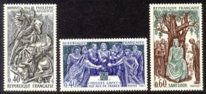 France Sc# 1199-201 MNH French Kings