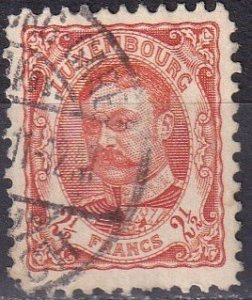 Luxembourg #92  F-VF  Used  CV $80.00  Z1143
