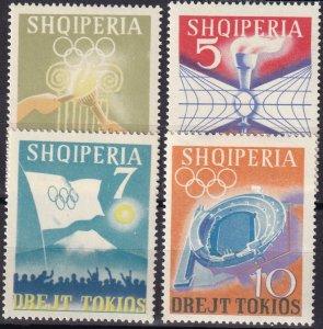 Albania #730-3  MNH CV $3.25  (Z8022)