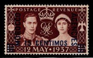 Great Britain, Morocco Scott 82 MNH** 1937 overprint