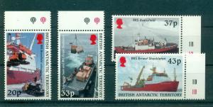 Br. Antarctic Terr. - Sc# 289-92. 2000 Survey Ships. MNH $27.50.