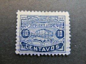 A4P11F11 Honduras 1915-16 10c used