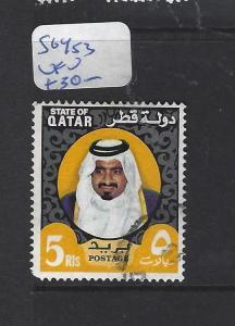 QATAR  (PP2609B)   SHEIKH  5R  SG 453   VFU