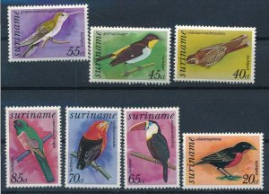 [I239] Suriname Birds good set of stamps very fine MNH