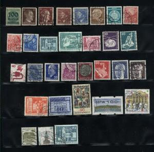 Germany  31 different used  PD