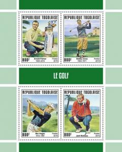 Z08 IMPERF TG190144a TOGO 2019 Golf MNH ** Postfrisch