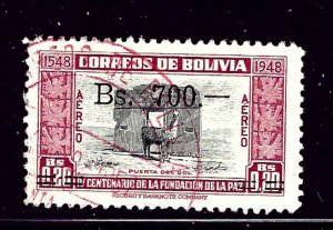 Bolivia C192 Used 1957 issue