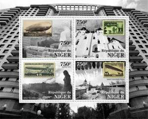 Niger - 2013 - Russian Stamp on Stamp - 4 Stamp  Sheet 14A-260