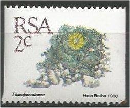 SOUTH AFRICA, 1988, MNH 2c, Definitive, Succulents, Coil Scott 755