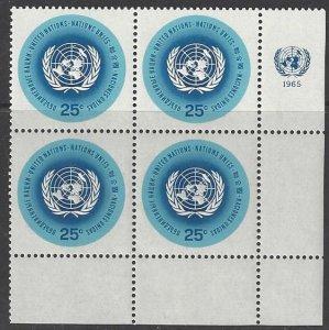 United Nations 149 Third Printing MNH MI4  LR
