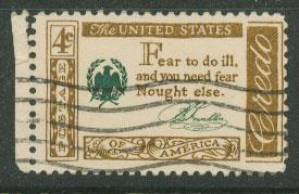 USA   SG  1139 FU left margin