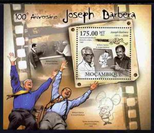 Mozambique 2011 Birth Centenary of Joseph Barbera perf s/...