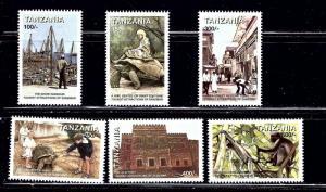 Tanzania 1772-77 MNH 1998 Tourism