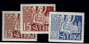 Sweden^ SC#369, 371, 372 Mint F-VF SCV $10.00...Bid to Win!