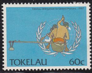 Tokelau Islands 155 Natives Visit the UN 1988