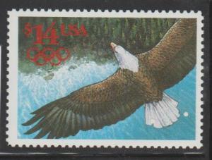 U.S. Scott #2542 Eagle $14 Stamp - Mint NH Single