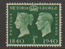 GB George VI  SG 479 mounted mint