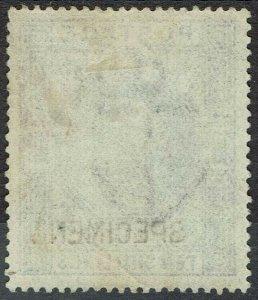 GREAT BRITAIN 1902 KEVII SPECIMEN 10/-