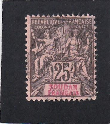 French Sudan #12 used