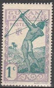 French Guiana #109 F-VF Unused (V4090)