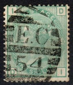Great Britain #64 Plate 13 F-VF Used CV $120.00 (X5389)