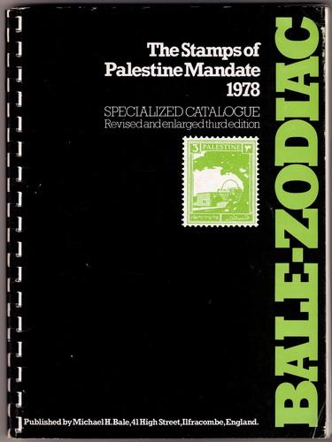 Book- The Stamps of Palestine Mandate 1978 Bale-Zodiac