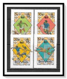 British Virgin Islands #651-654 Soccer Set MNH