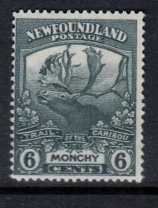 Newfoundland #120 Mint Double Print Variety Hinged **With Certificate**