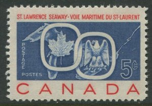 STAMP STATION PERTH Canada #387 Great Lakes and Maple Leaf MNH OG  VF