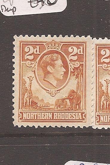 Northern Rhodesia KGVI 2d Animals SG 31 MNH (6avw)