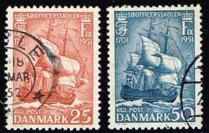 Denmark # 327 - 328  U